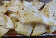 dolci di carnevale - le sfrappe