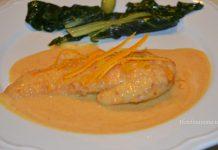 petto di pollo all' arancia