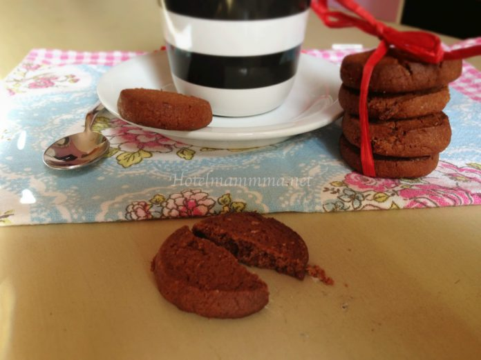 biscotti cioccolato e arancia