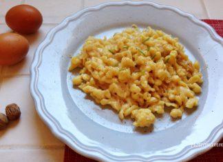 spätzle con formaggio